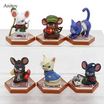 6pcs/set Iron-Blooded Orphans Mobile Suit Gundam Cat & Mouse PVC Figure ... - $43.00