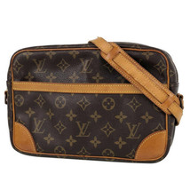 Auth Louis Vuitton Trocadero 27 Monogram Shoulder Bag Brown Zipper LVB0690 - $480.15