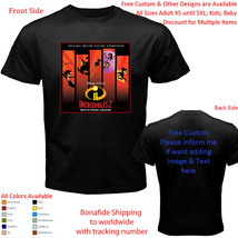 Incredibles 2 5 Shirt All Size Adult S-5XL Youth Toddler - $20.00+