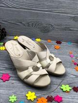 Abeo Women's Sandals  Dress Slides  Pumps Bone US 8  ( 2494 ) - $46.38