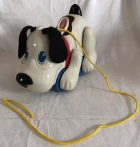 Playskool Hasbro Digger Puppy THE Dog Pull Toy Pants Barks Legs Move WOR... - $19.99