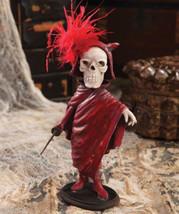Calendar Skeleton Red Devil w Sword Figurine  Bethany Lowe Halloween RC... - $34.00
