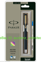 Parker Vector Standard GT Roller Ball Pen Black Body -Brand New Sealed Original - $10.99