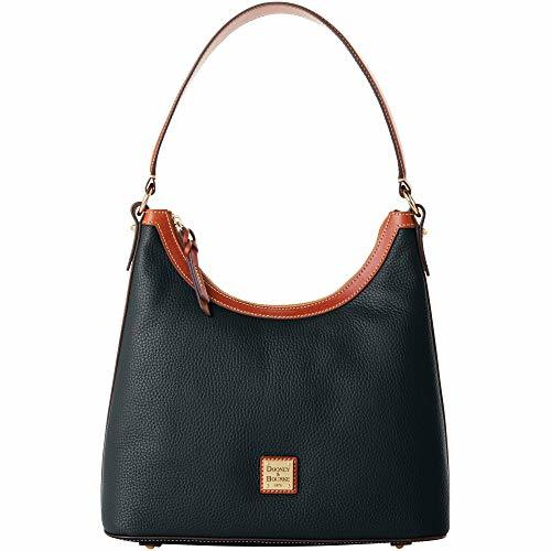 Dooney & Bourke Pebble Leather Black Hobo Bag Purse