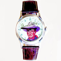 "Gene Autry, ""Favorite Cowboy"" Fossil Limited Edition Watch #1421/10,000 Only $69 - $68.06"