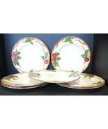 Seven Vintage Franciscan Dinner Plates - Apple Pattern - $85.49