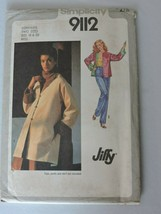 Simplicity Sewing Pattern 9112 Uncut Jiffy Reversible Jacket 1979 Vintage 18 20  image 2