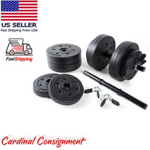 Golds Gym Vinyl 40 lb Adjustable Weight Set - Brand New and Ships TODAY! - $123.70