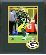 Aaron Jones 2018 Green Bay Packers #33 -11x14 Team Logo Matted/Framed Photo - $42.95