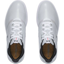 UNDER ARMOUR UA PERFORMANCE SPIKELESS GOLF SHOES SIZE 11.5 NEW W/BOX(129177-101) image 4