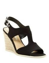 Franco Sarto Novella Wedge Sandal - Women's, Black size 9.5 M - $23.94