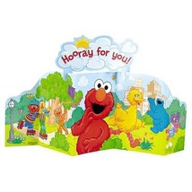 Hooray For Elmo Table Top Centerpiece 1 Per Package Birthday Party Suppl... - $5.92