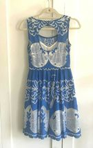 Anthropologie Azure Lace Dress Plenty by Tracy Reese Sz 0P image 11