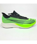 NIKE ZOOM FLY 3 BLACK/ELECTRIC GREEN AT8240-300 MEN'S SIZES 8 TO 12 NEW DS - $100.09