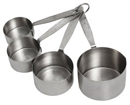Crestware Heavy Duty Stainless Steel Measuring Cup Set One Quarter Cup, ... - €13,05 EUR