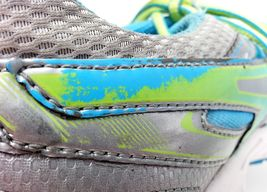 Asics Womens Gel Contend 2 Running Shoes Size 9.5 Sneakers T474N Silver Teal image 10