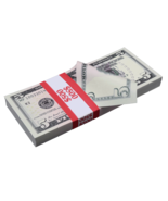 $500 New Series Full Print Prop Money Stack - $14.99