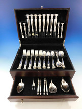 Romance of the Sea by Wallace Sterling Silver Flatware Set Service 52 Pieces - $3,100.00