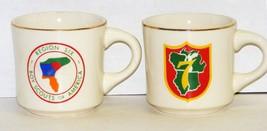 Vintage BSA - 2 Boy Scout Mugs - Region Six & Region 7 - $10.00