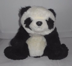 "16"" Vintage 1993 Ty Black & White Oreo Panda Bear Teddy Stuffed Animal Plush Toy - $64.52"