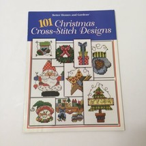 101 Christmas Cross Stitch Designs Pattern Book Better Homes and Gardens - $9.74