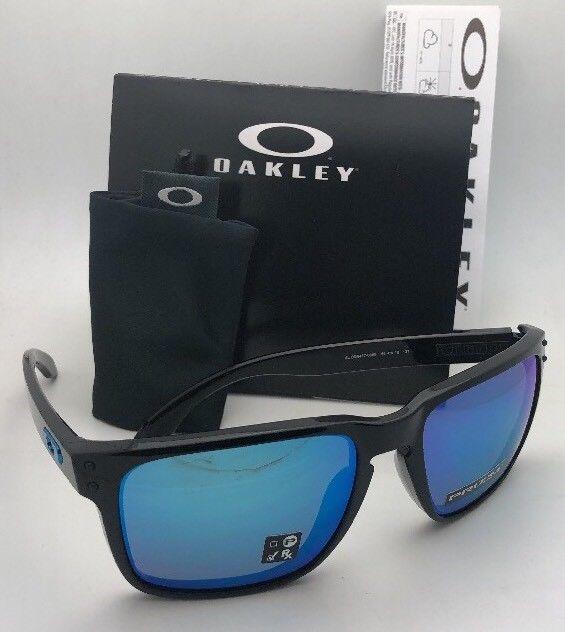 829401d3605 New OAKLEY Sunglasses HOLBROOK XL OO9417-0359 Black w  Prizm Sapphire  Iridium