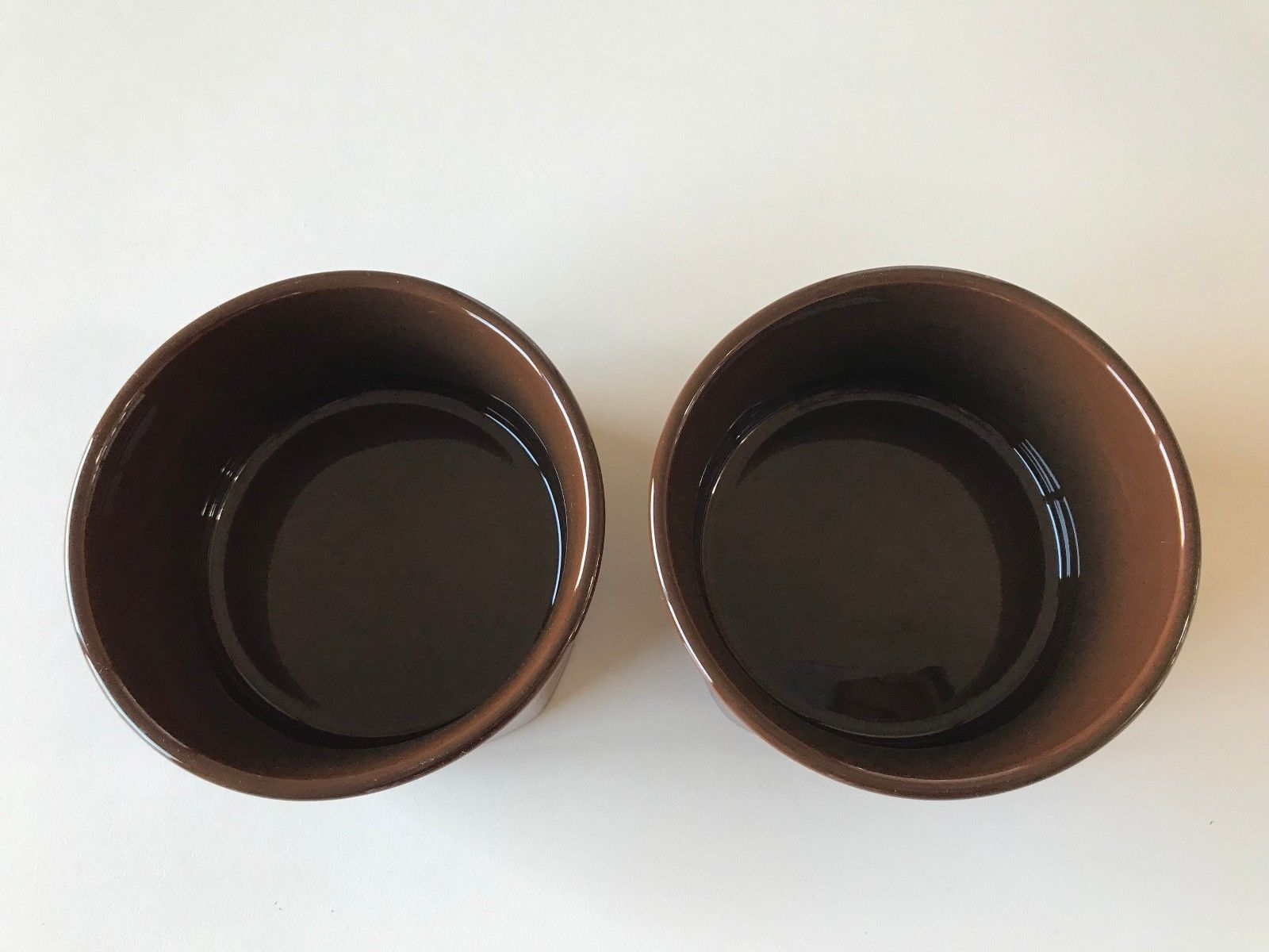 Fiesta®  CHOCOLATE (BROWN) - Post 86 - 19 oz. Square Bowl - NEW SET OF 2