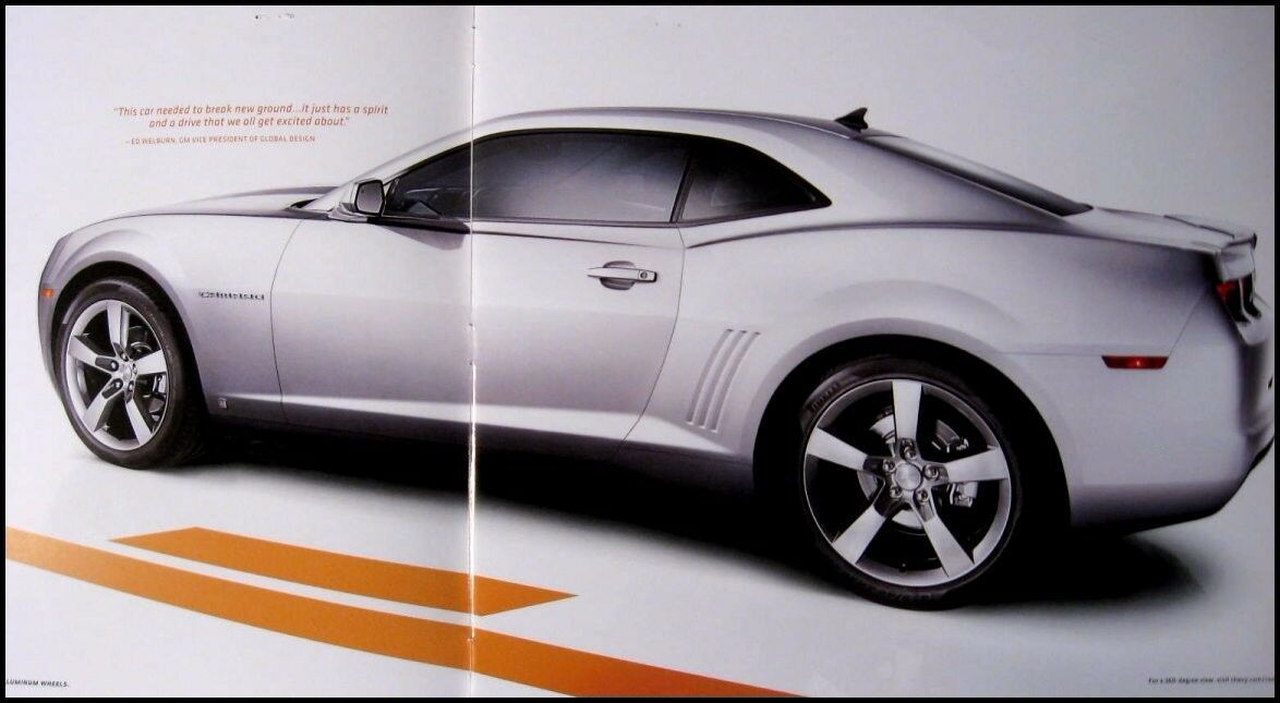 2010 Chevrolet Camaro Prestige Brochure Book LT RS SS GM HUGE