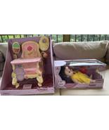 Disney Store Animators' Collection Belle Baby Doll & Matching Feeding Hi... - $149.99