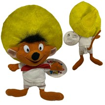 Vintage 1996 Plush SPEEDY GONZALES Mouse Looney Tunes stuffed Animal - $17.37