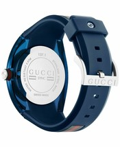 Latest Gucci Stainless Steel WYNC Quartz Mens Watch YA137104 image 2