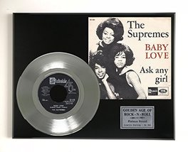 "Supremes - Baby Love Ltd Edition Platinum 45 Display ""M4"" - $85.45"
