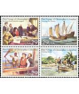 1992 29c Voyages of Columbus, Block of 4 Scott 2620-23 Mint F/VF NH - $2.23