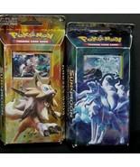 Pokemon Lot Of 2 Burning Shadows Sun & Moon Luminous Frost Rock Steady Card Game - $29.69