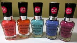 Wet N Wild Megalast Salon Nail Color *choose your color*Twin pack* - $10.95