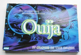 2013 Ouija Board GLOW IN DARK Game Parker Brothers Complete in Box Light... - $14.75