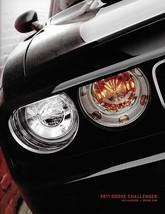 2011 Dodge CHALLENGER sales brochure catalog 11 R/T SRT8 HEMI - $9.00
