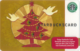 Starbucks 2008 Holiday Glow Collectible Gift Card New No Value - $7.99