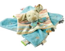 Baby Lovie Puppy Dog Puppet Comforter Blanket Soft Toy Plush Baby Boy Ch... - $12.99