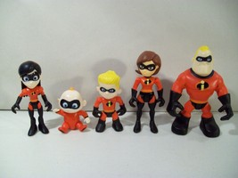 DISNEY PIXAR THE INCREDIBLES JUNIOR SUPERS FAMILY ACTION FIGURES JACK EL... - $16.61