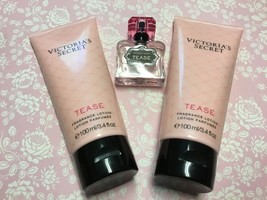 Victoria's Secret Tease lotion fragrance wash perfume New - $21.49