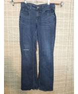 RIDERS BY LEE WOMENS BLUE JEANS COTTON BLEND DARK WASH SIZE 6M 30 X 30 R... - $10.57