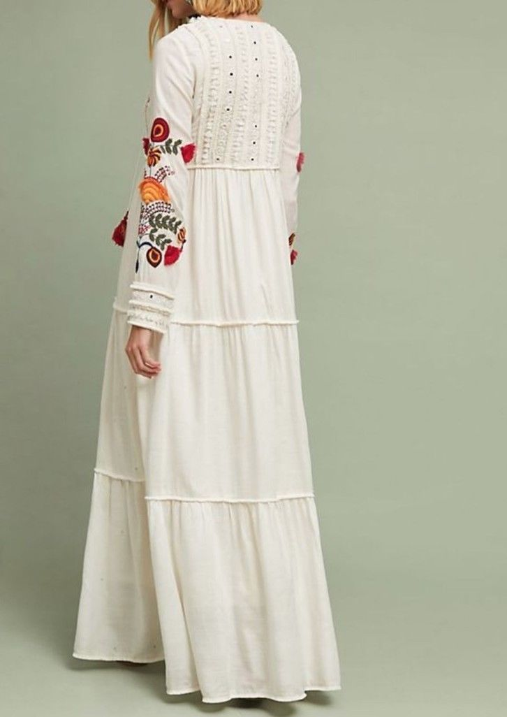 Anthropologie Winsome Maxi Dress Verb by Pallavi Singhee $358 Sz 2 - NWT