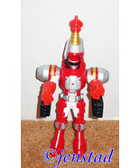 "POWER RANGERS OPERATION OVEDRIVE RED TURBO DRILL TOY 9.5"" ACTION FIGURE ... - $5.88"