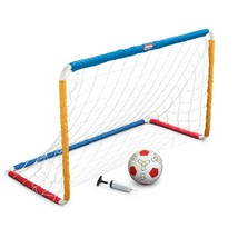 MGA Entertainment Little Tikes Easy Score Soccer Set w/net + Ball + Pump... - $51.16