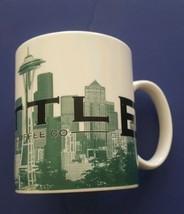 Starbucks Coffee Mug Seattle Skyline Series One The Emerald City 2002 - $19.59