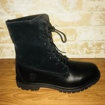 "Timberland Authentic Teddy Fleece 6"" Waterproof Boots Black Size:9.5 Sty... - $87.07"