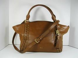 LAUREN RALPH LAUREN NWT Ashfield  Adaline Brown Satchel Handbag Purse - $247.49