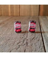 Dr pepper cherry Earrings - $5.82