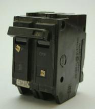 GE THQL2120 Circuit Breaker 2-Pole 20A 120/240VAC Used - $9.88